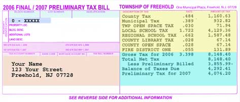 Legal Description   This Section Describes The Property Taxed By The Block  And Lot Designation As Set Forth On The Tax Map Of The Township Of Freehold  And ...